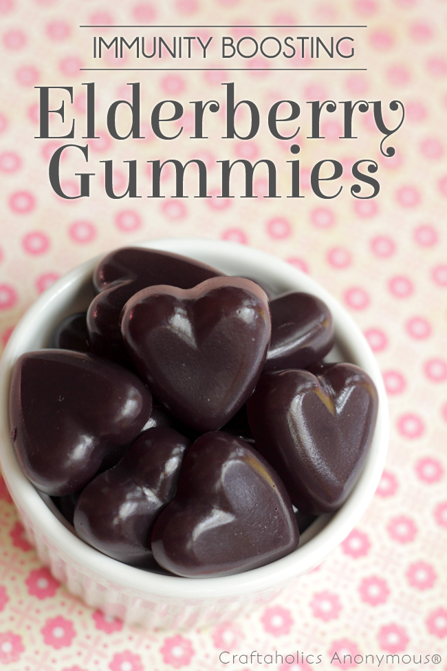 Elderberry gummies are a great way to boost immunity! and kids think they're great.