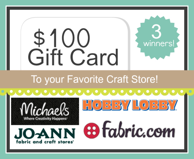 favorite craft store giveaway