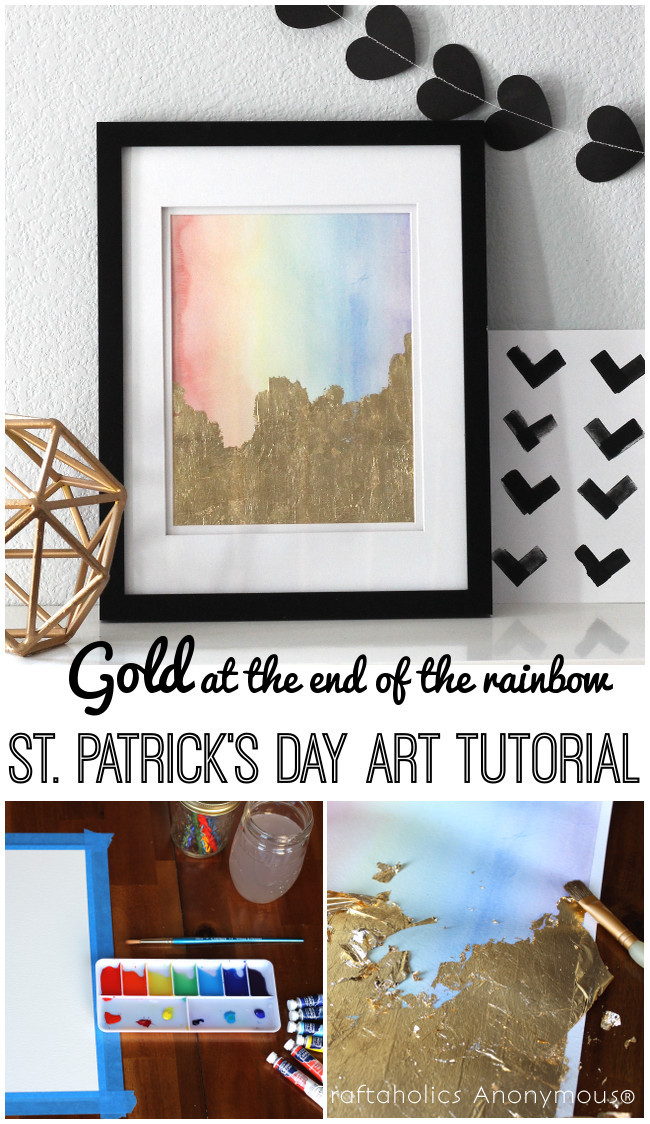 St. Patrick's Day Art Tutorial