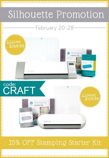 stamp kit promo use code: CRAFT