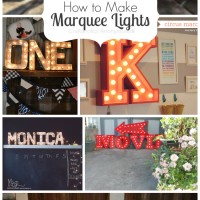 How to Make Marquee Lights