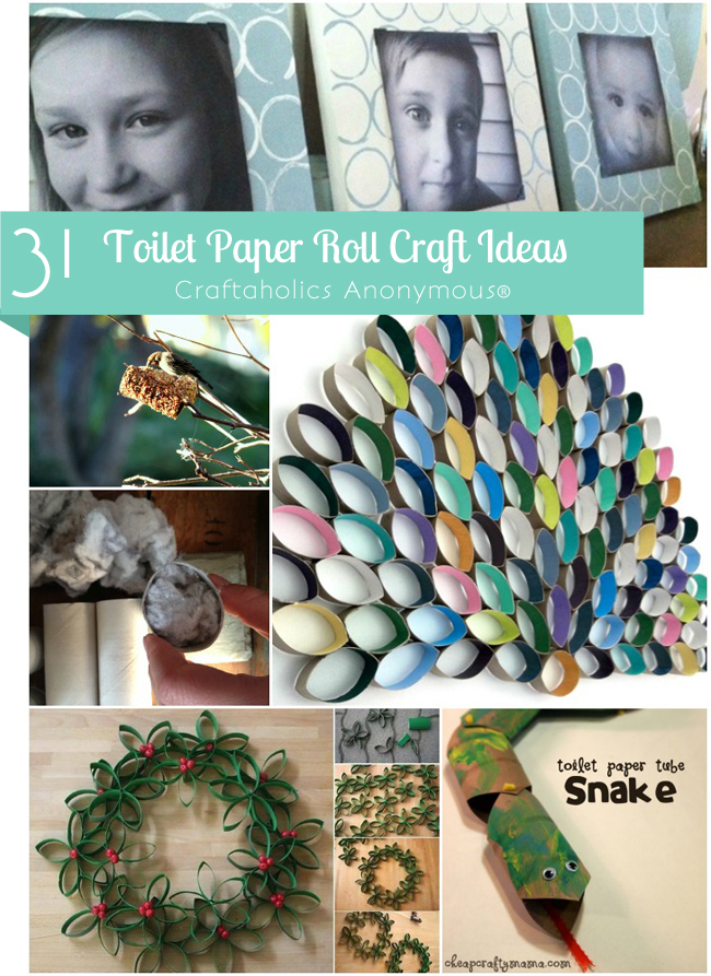 Craftaholics Anonymous Toilet Paper Roll Crafts