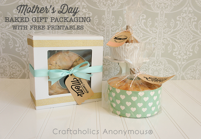 Mother's Day gift ideas + Free printable gift tags!