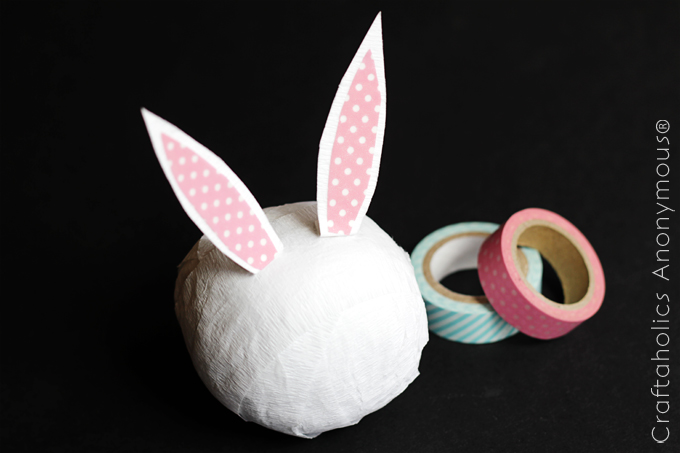 Handmade Easter gift idea. Love this non-candy gift idea!