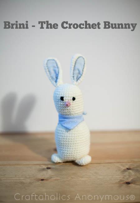 Free Bunny Rabbit Crochet pattern. Soooo cute!