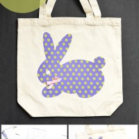 Bunny Applique Bag Tutorial
