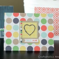 Hand-Stitched Note Cards with Free Printable Template