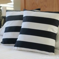 How to Sew Envelope Pillow Cover Tutorial