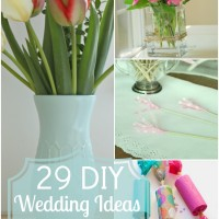29 DIY Wedding Ideas