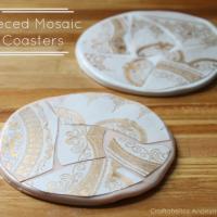DIY Mosaic Coasters