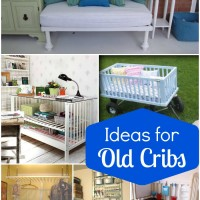 Fun Ideas for Old Cribs - Reuse baby cribs in these inventive new ways!