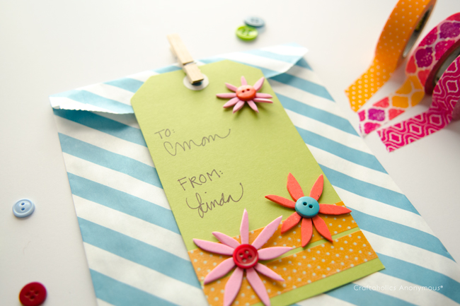 Spring/Mother's Day gift tag idea. #MakeAmazing