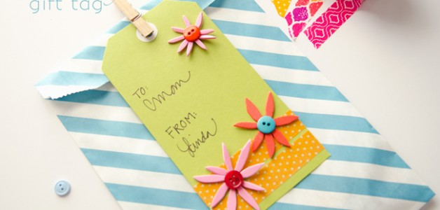Spring Gift Tag idea