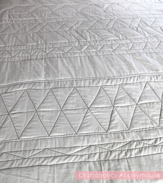 geometric quilt tutorial