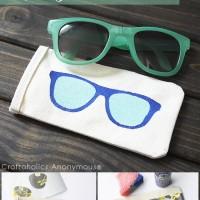DIY Sunglasses Case Tutorial