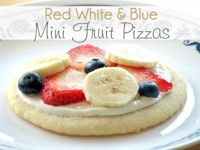mini fruit pizzas recipe