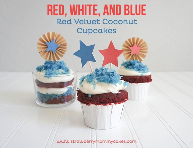 patriotic cupcakes