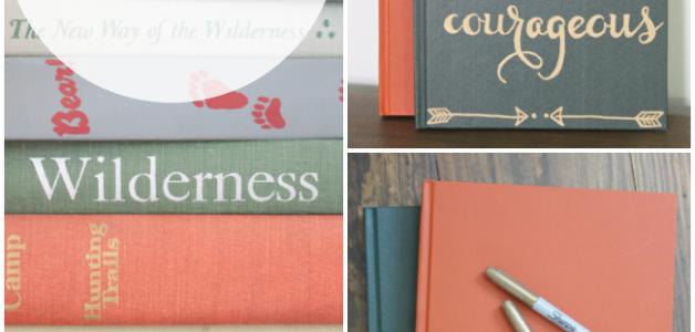 Transform vintage books with this easy tutorial! #tutorial #vintagebooks #diyart