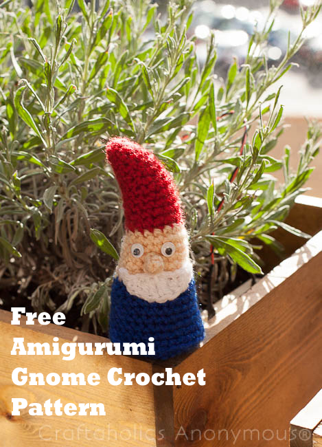 free crochet gnome patterns