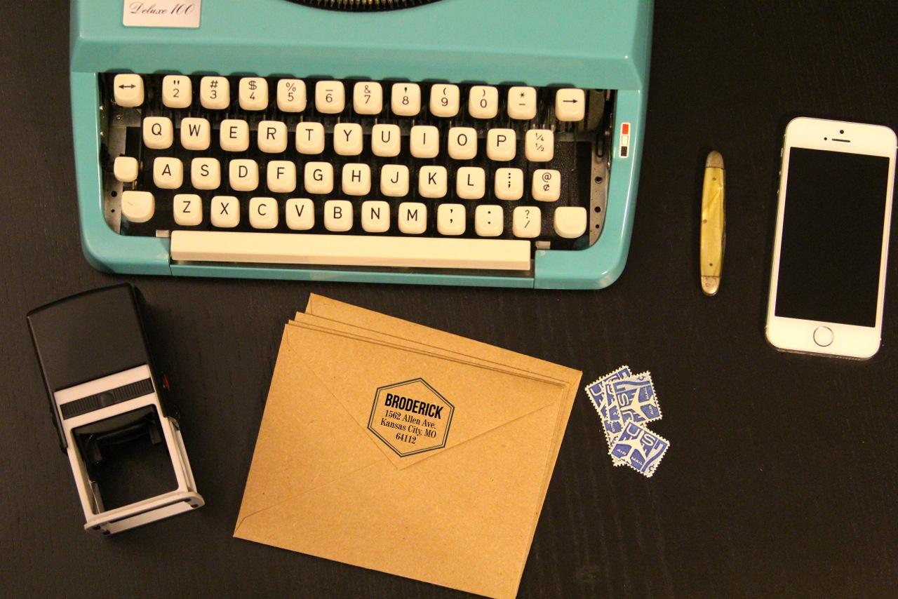 Typewriter Scene