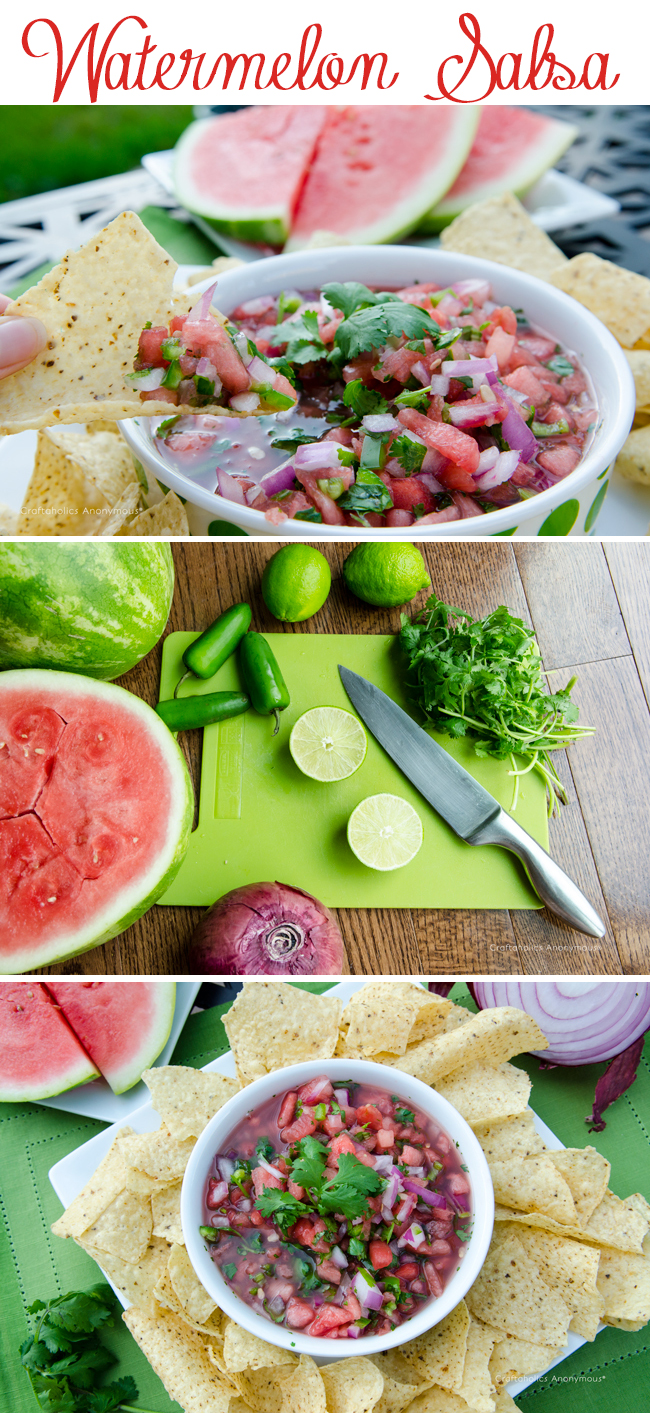 How to make watermelon Salsa