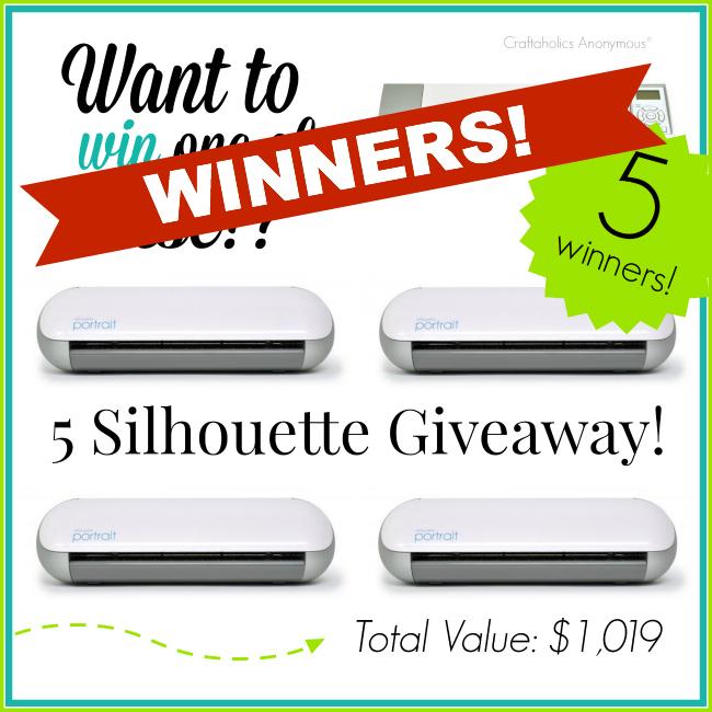 5 silhouette winners