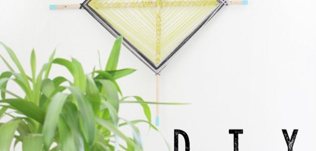 DIY Yarn Art - simple tutorial & fun project! #yarnart #diy #tutorial