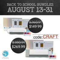 Silhouette Back to School Bundle Sale