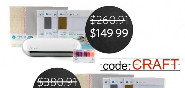 Silhouette Back to School Sale. Use code: CRAFT to save on these awesome bundles!