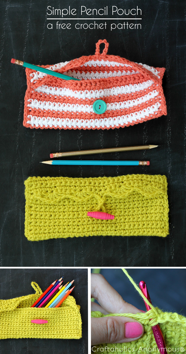 simple pencil pouch