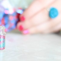 Cute fairy dust necklaces