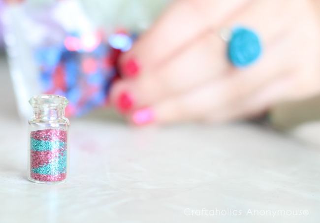 fairy dust necklace tutorial