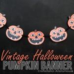 Vintage Halloween Banner