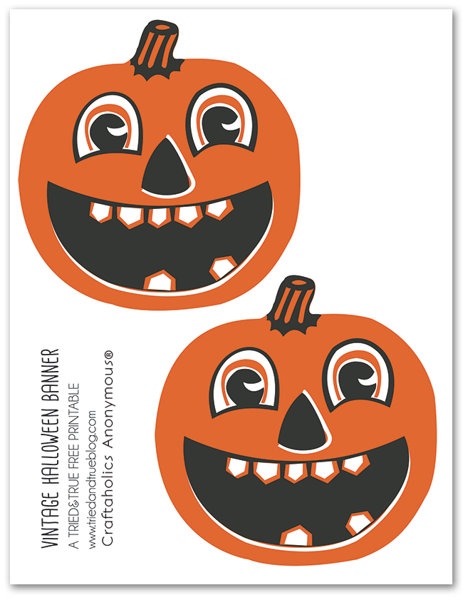 It is a picture of Persnickety Printable Halloween Banner