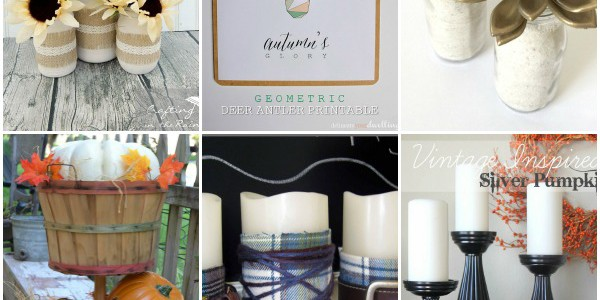 20+ Last Minute Fall Decor Ideas