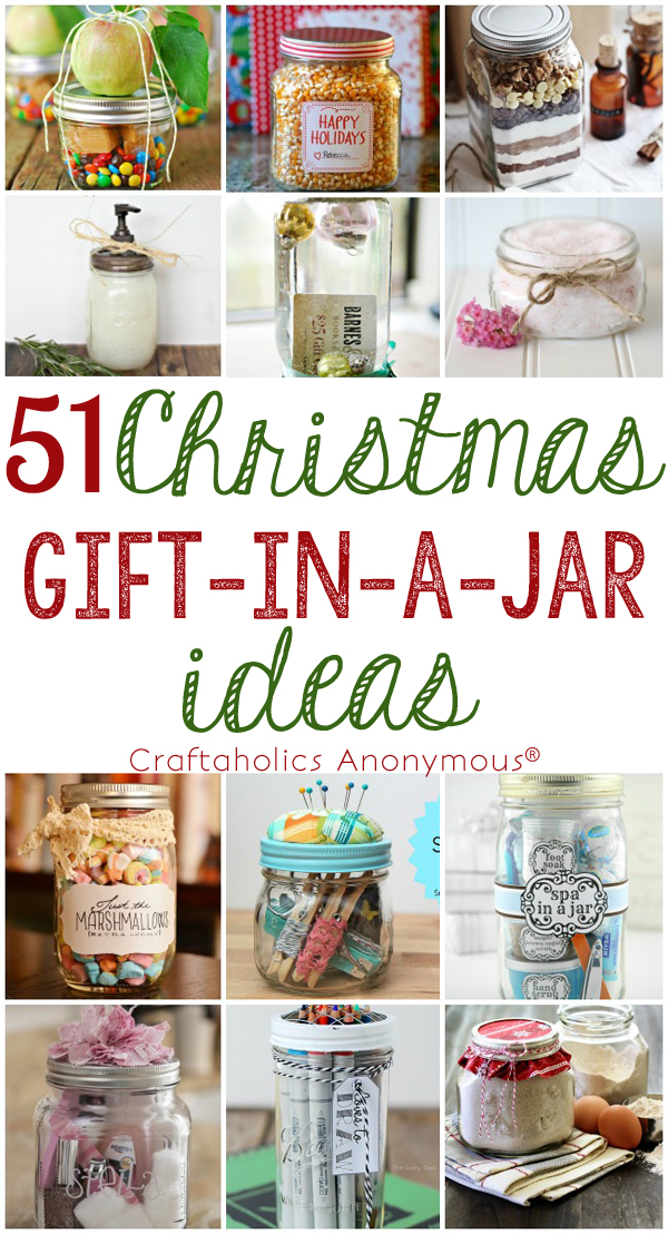 Christmas Gift Ideas For Coworkers.Craftaholics Anonymous 51 Christmas Gift In A Jar Ideas