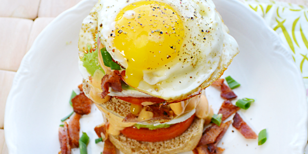 Breakfast Sandwich Stackers