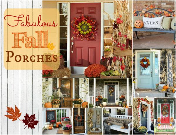 Fabulous Fall Porches Vintage Scrap Shop