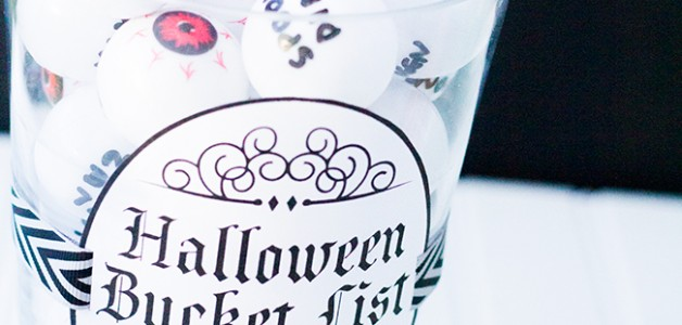 Fun Halloween idea for kids! Halloween bucket list!