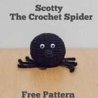 Scotty – The Crochet Spider