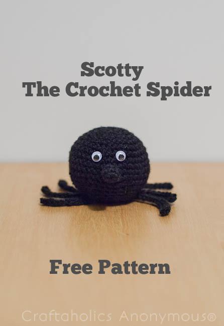 Free Crochet Spider Pattern
