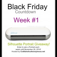 Silhouette Black Friday Countdown Giveaway