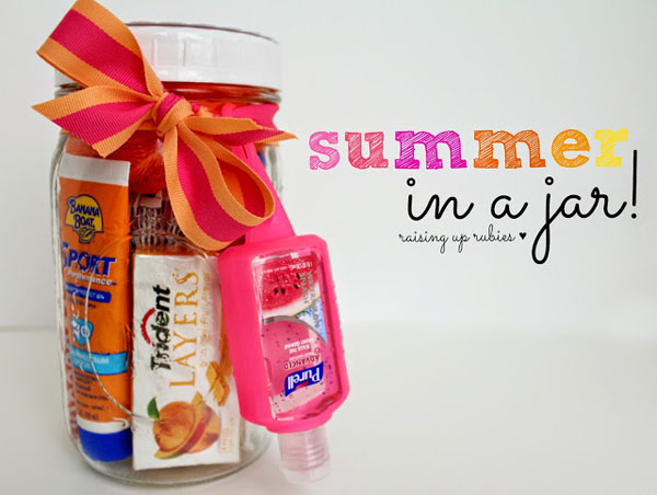 summer in a jar! ♥ raisinguprubies.blogspot.com