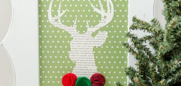 Christmas Deer. Easy DIY Christmas decor!
