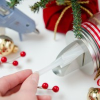 Crafter Gift in a Jar || Glue stick dispenser