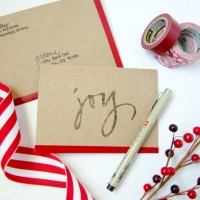 4 Holiday Notecards, 4 Different Ways #MakeAmazing