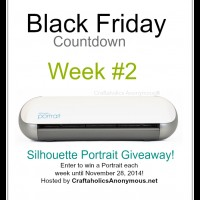 Silhouette Black Friday Countdown Week 2 Giveaway