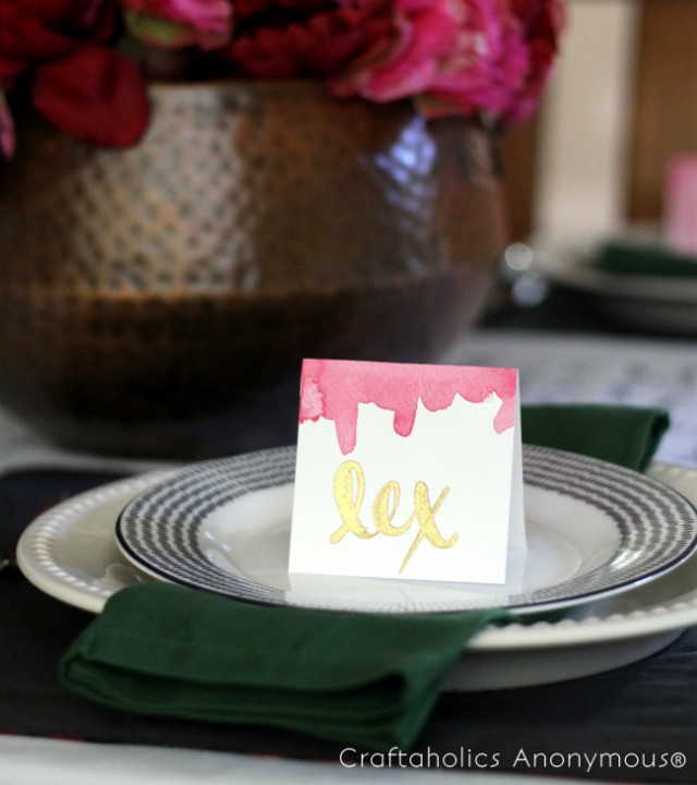 watercolor placecards 12