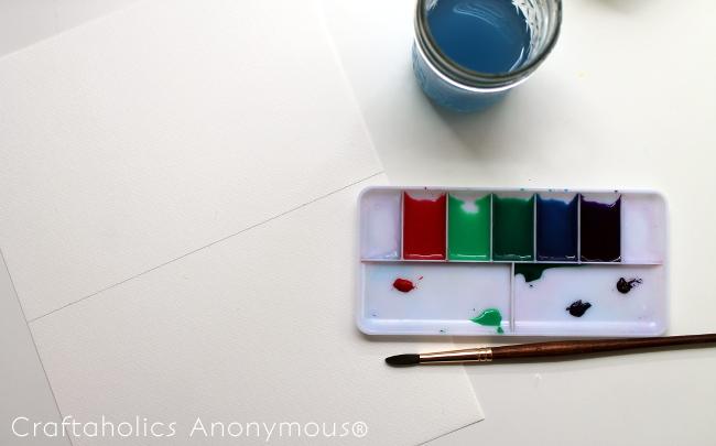 watercolor craft