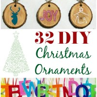 32 DIY Christmas Ornaments